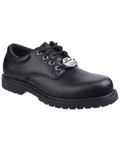 Skechers Mens Cottonwood Elks SR Lace Up Shoes - Black