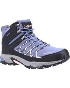 Cotswold Ladies Abbeydale Mid Hiking Boots - Light Blue