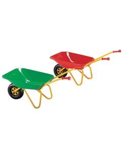 Metal Toy Wheelbarrow - Red