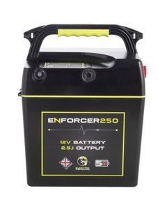 Mole Electric Fencing Enforcer 250 Battery Energiser