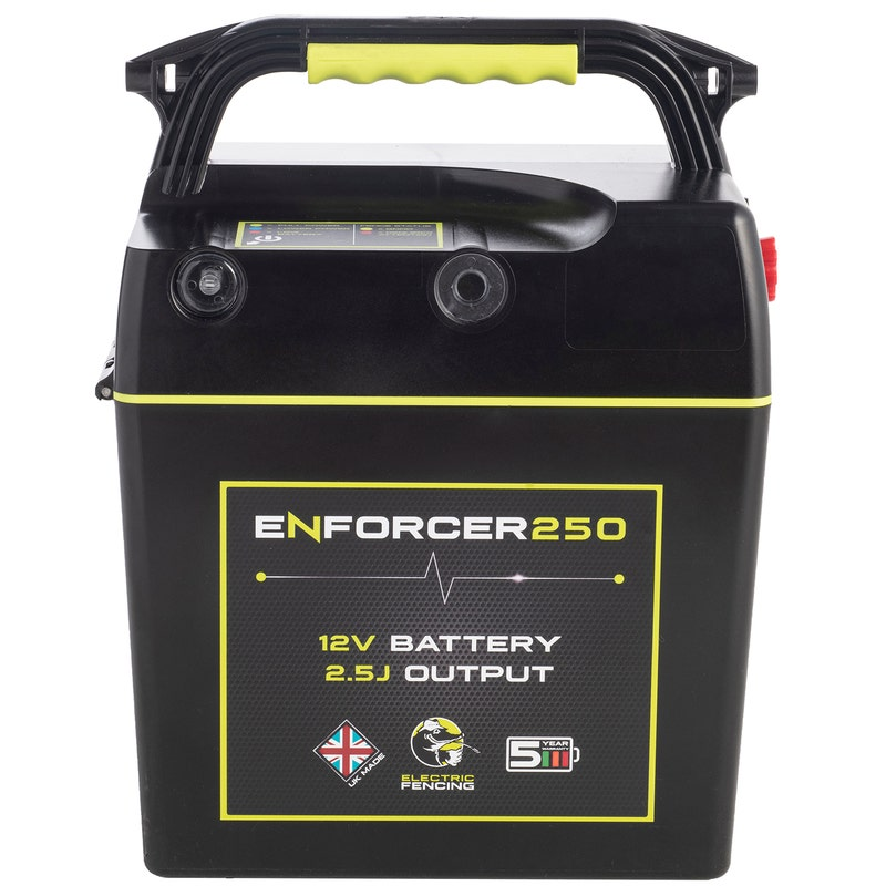 An image of Mole Electric Fencing Enforcer 250 Battery Energiser