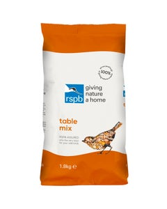 RSPB Table Mix Wild Bird Food – 1.8kg