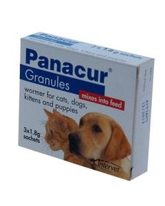 Panacur Granules 22% 3 x 1.8g