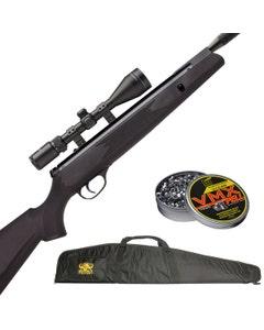 Webley VMX Spring Powered .22 Quantum Air Rifle Pack