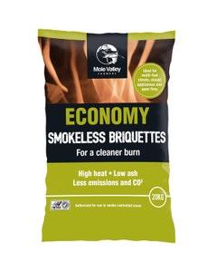 MVF Economy Smokeless Briquettes Pallet - 50 x 20kg