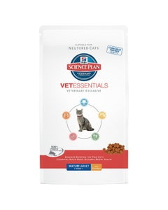 Hill's Science Plan Vet Essentials Mature Adult Cat 7 Years+ With Chicken 1.5kg