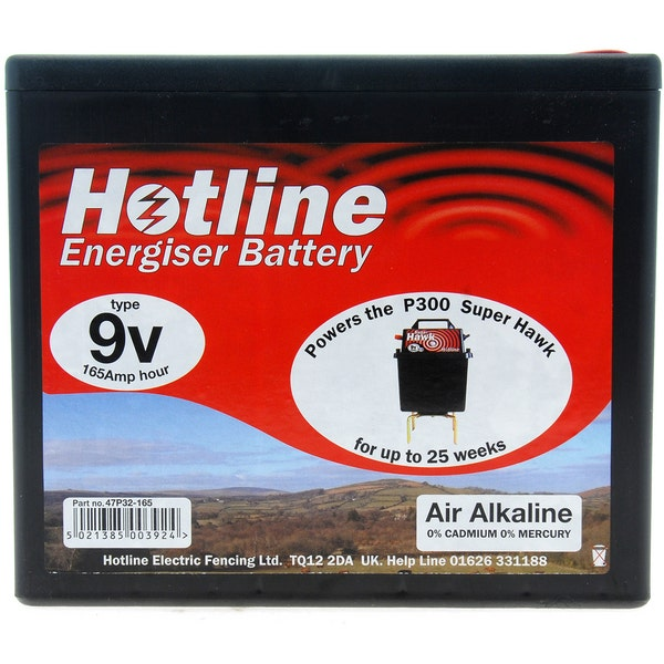 An image of Hotline P32 Energiser Battery 9V 165AH