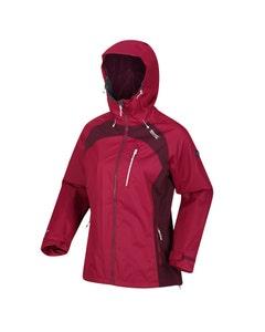 Regatta Womens Highton Stretch II Waterproof Jacket - Beetroot/Fig