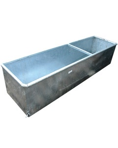 IAE Galvanised Cattle Drinking Trough - 6ft