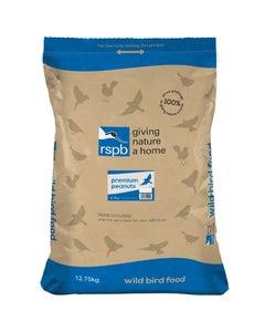 RSPB Premium Peanuts Wild Bird Food – 12.75kg