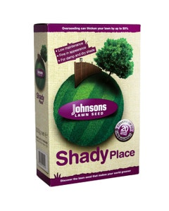 Johnsons Shady Place Lawn Seed - 500g