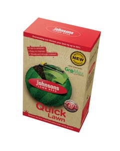 Johnsons Quick Lawn With Growmax Lawn Seed - 500g