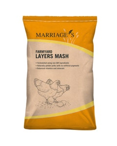 Marriages Farmyard Layers Mash - 20kg