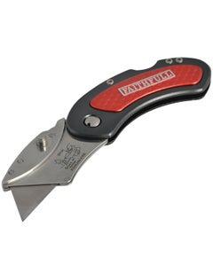 Faithfull Folding Utility Knife With Blade Lock