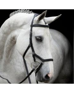 Horseware Rambo Black Micklem Competition Bridle - Standard Horse