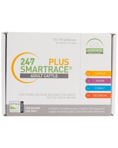 Agrimin 24.7 Smartrace Plus Cattle Bolus - Pack of 10