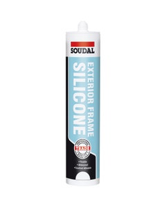 Soudal Exterior Frame Clear Silicone Sealant - 270ml