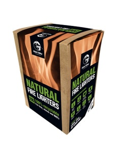 Mole Valley Natural Firelighters - Pack of 200