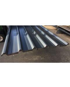 Steel Box Profile 1000/32 Roofing & Cladding Sheet - Slate Blue 10ft