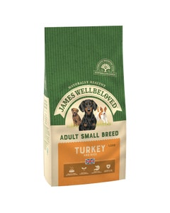James Wellbeloved Adult Dog Small Breed Turkey & Rice - 1.5kg