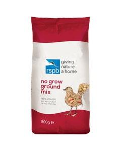 RSPB No Grow Ground Mix Wild Bird Food – 900g