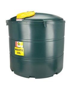 Deso Bunded Vertical Waste Oil Tank 2455L - V2455WOW