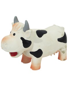 Grunting Cow Dog Toy - Large