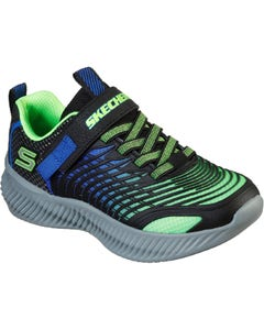 Skechers Children's OpticoSports Trainers - Lime/Blue
