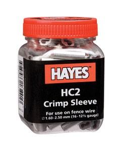 Hayes Crimp Sleeves 1.6-2.5mm (Pack of 100)