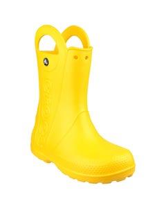 Crocs Children's Handle It Wellington Boots - Yellow
