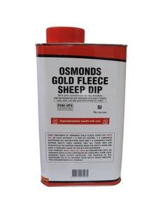 Osmonds Gold Fleece Sheep Dip - 5L