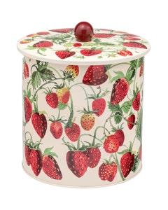 Emma Bridgewater Strawberry Biscuit Barrel - 480g
