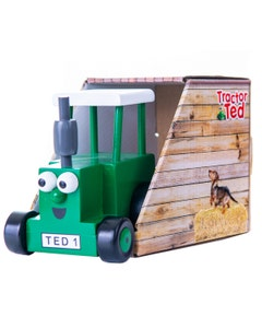 Tractor Ted Wooden Toy