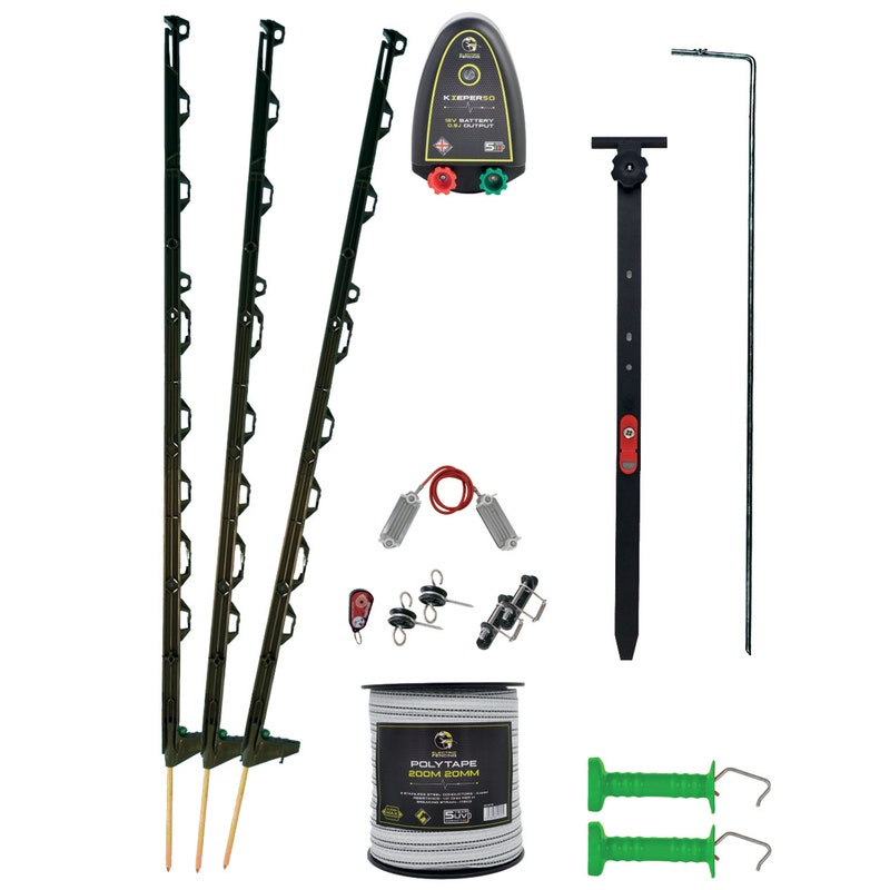 An image of Mole Electric Fencing Ultimate Equestrian Paddock Kit - 200m