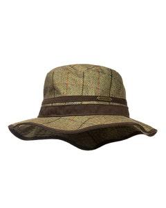 Baleno Ladies Caitlin Printed Tweed Hat