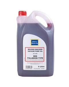 Dairy Spares Milking Machine Vacuum Pump Oil - 5L