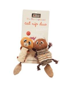 """Danish Design Chip & Chap Catnip Duo Cat Toy - 5"""""""