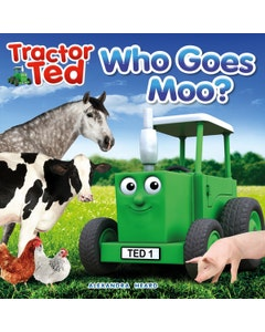 Tractor Ted Who Says Moo Book