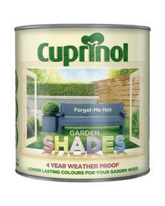 Cuprinol Garden Shades Wood Paint Forget Me Not - 2.5L