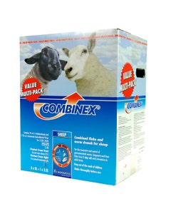 Combinex Sheep Promo Pack - 2 x 5L + 2.2L