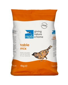 RSPB Table Mix Wild Bird Food – 4kg