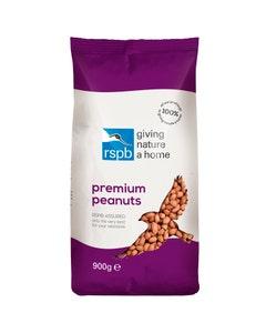 RSPB Premium Peanuts Wild Bird Food – 900g