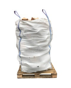 MVF Seasoned Logs - 1 Cubic Metre IBC Container
