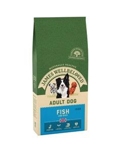 James Wellbeloved Adult Dog Fish & Rice - 15kg
