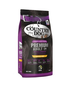 Country Dog Premium Hypoallergenic Adult 1+ Chicken and Rice - 2kg
