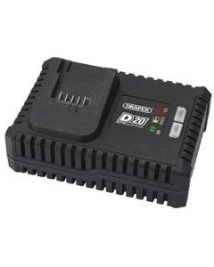 Draper D20 20V Fast Battery Charger