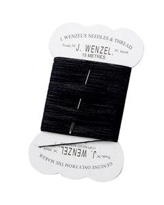 Lincoln Black Plaiting Thread - 15m