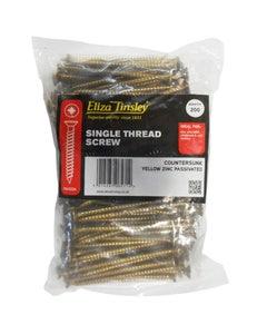 Eliza Tinsley Single Thread Wood Screw 5mm x 80mm - Pack of 200