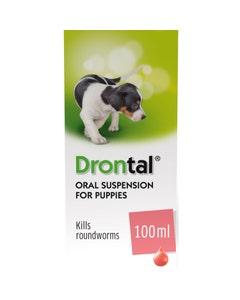 Drontal Puppy Oral Suspension 100ml