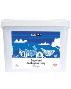 Net-Tex Poultry Ground & Bedding Sanitising Powder - 5kg